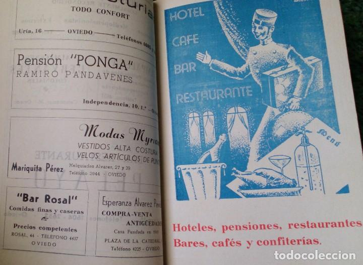 PEQUEÑO LIBRO AÑOS 40 GUÍA DE TIENDAS Y TELÉFONOS DE OVIEDO (Coleccionismo - Catálogos Publicitarios)