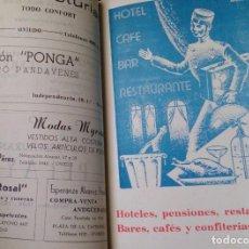 Catálogos publicitarios: PEQUEÑO LIBRO AÑOS 40 GUÍA DE TIENDAS Y TELÉFONOS DE OVIEDO. Lote 115873015