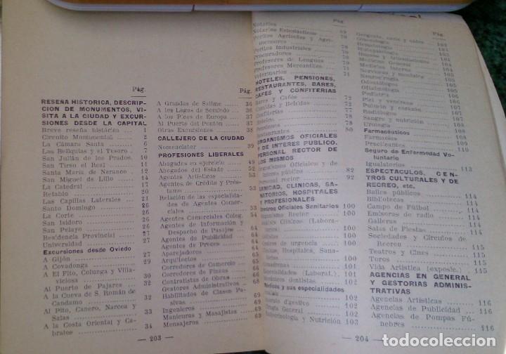 Catálogos publicitarios: Pequeño libro años 40 Guía de tiendas y teléfonos de Oviedo - Foto 4 - 115873015