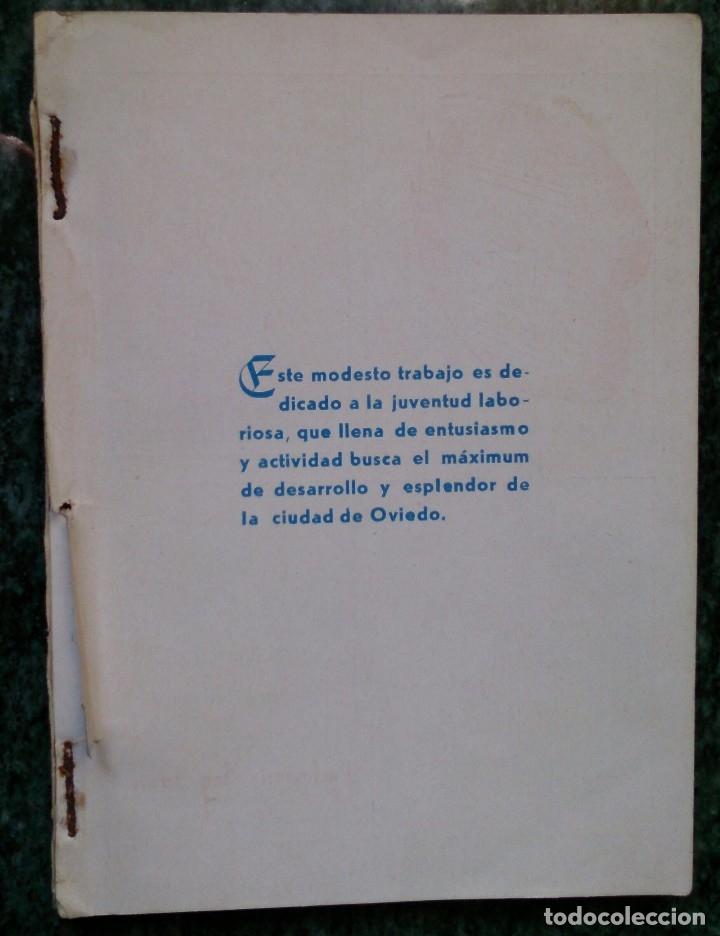 Catálogos publicitarios: Pequeño libro años 40 Guía de tiendas y teléfonos de Oviedo - Foto 6 - 115873015
