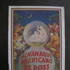 Catálogos publicitarios: CATALOGO FARMACIA PILDORAS DEL DR. ROSS - -VER FOTOS - (V-14.000). Lote 116381883