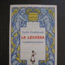 Catálogos publicitarios: CATALOGO LECHE CONDENSADA LA LECHERA NESTLE- DIBUJOS PENAGOS -VER FOTOS - (V-14.053). Lote 116470311