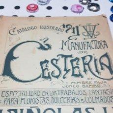 Catálogos publicitarios: CATALOGO CESTERIA 1911. Lote 117029295