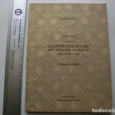 Catálogos publicitarios: CATÁLOGO DE LIBROS ANTIGUOS DE SOTHEBY'S 1975. Lote 117115627