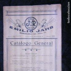 Catálogos publicitarios: F1 EMILIO JHAR CATALOGO PUBLICITARIO AÑO 1930. Lote 117517639