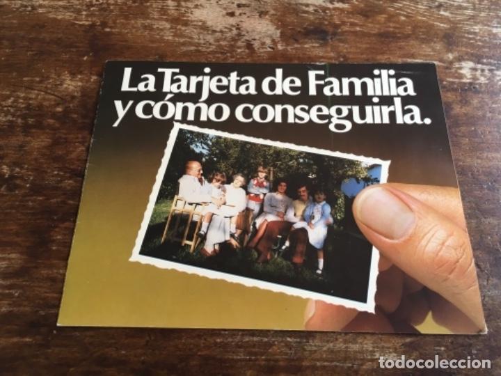 DIPTICO PUBLICITARIO - BANCO COMERCIAL DE CATALUÑA - RUMASA (Coleccionismo - Catálogos Publicitarios)