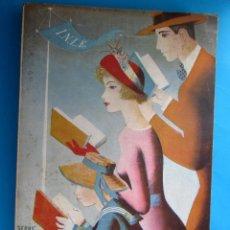 Catálogos publicitarios: CATÁLOGO DE LA FERIA NACIONAL DEL LIBRO, 1949. GRÁFICAS GONZÁLEZ, MADRID.. Lote 117900975