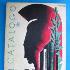 Catálogos publicitarios: CATÁLOGO DE LA FERIA NACIONAL DEL LIBRO, BARCELONA, 1946. GRÁFICAS GONZÁLEZ, MADRID.. Lote 117905067