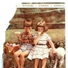 Catálogos publicitarios: PUBLICIDAD FARMACÉUTICA: HUBERAMIN, GRANULADO Y JARABE - ESTIMULA EL APETITO. TRIPTOFANO + VITAMINAS. Lote 39833608