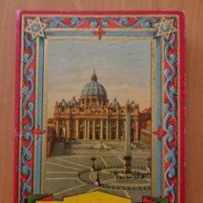 Catálogos publicitarios: RICORDO DI ROMA, 32 VEDUTE PARTE 1,SERIE 601. Lote 119015655