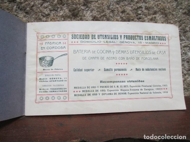 Catálogos publicitarios: CORDOBA MADRID 1911 - SOCIEDAD DE UTENSILIOS Y PRODUCTOS ESMALTADOS - CATALOGO VAJILLA HOGAR + INFO - Foto 2 - 119212031
