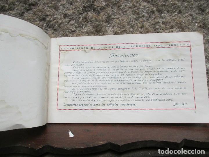 Catálogos publicitarios: CORDOBA MADRID 1911 - SOCIEDAD DE UTENSILIOS Y PRODUCTOS ESMALTADOS - CATALOGO VAJILLA HOGAR + INFO - Foto 3 - 119212031