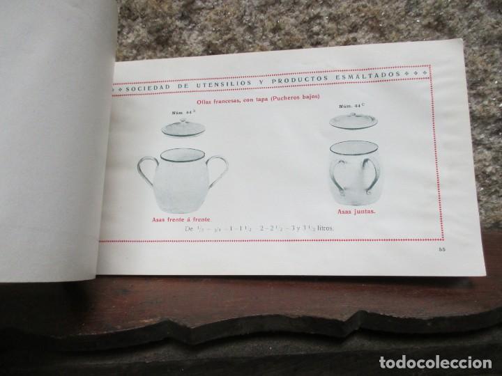 Catálogos publicitarios: CORDOBA MADRID 1911 - SOCIEDAD DE UTENSILIOS Y PRODUCTOS ESMALTADOS - CATALOGO VAJILLA HOGAR + INFO - Foto 6 - 119212031