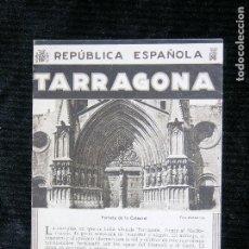 Catálogos publicitarios: F1 TARRAGONA REPUBLICA ESPAÑOLA PORTADA DE LA CATEDRAL 5 FOTOS POR WUNDERLICH 1992. Lote 119218903
