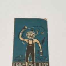 Catálogos publicitarios: MUESTRARIO DE PINTURAS INCOLUX. Lote 119277298