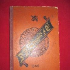 Catálogos publicitarios: RARO Y BONITO CATÁLOGO DE MATERIAL DE BELLAS ARTES. DÜSSELDORF 1888. MUY ILUSTRADO. Lote 119546955