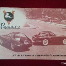 Catálogos publicitarios: CATALOGO ORIGINAL DEL PEGASO Z.102 . Lote 119598583