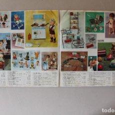Catálogos publicitarios: CATÁLOGO DE REGALOS VALISPAR 1965-1966, JUGUETES. Lote 143991534