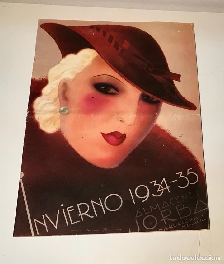 CATÁLOGO ALMACENES JORBA. BARCELONA Y MANRESA. INVIERNO 1934-1935. ILUSTRADO (Coleccionismo - Catálogos Publicitarios)