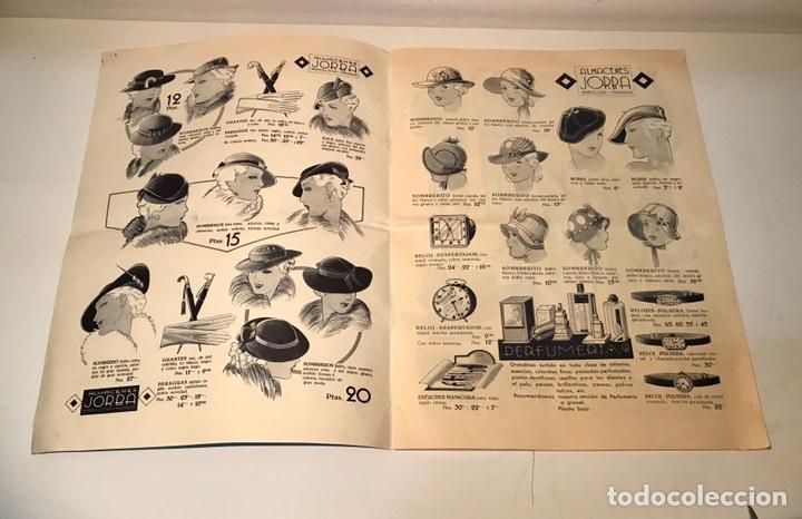 Catálogos publicitarios: Catálogo Almacenes Jorba. Barcelona y Manresa. Invierno 1934-1935. Ilustrado - Foto 3 - 120299111