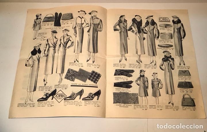 Catálogos publicitarios: Catálogo Almacenes Jorba. Barcelona y Manresa. Invierno 1934-1935. Ilustrado - Foto 4 - 120299111