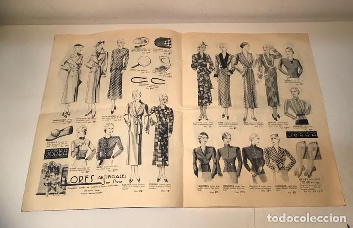 Catálogos publicitarios: Catálogo Almacenes Jorba. Barcelona y Manresa. Invierno 1934-1935. Ilustrado - Foto 5 - 120299111