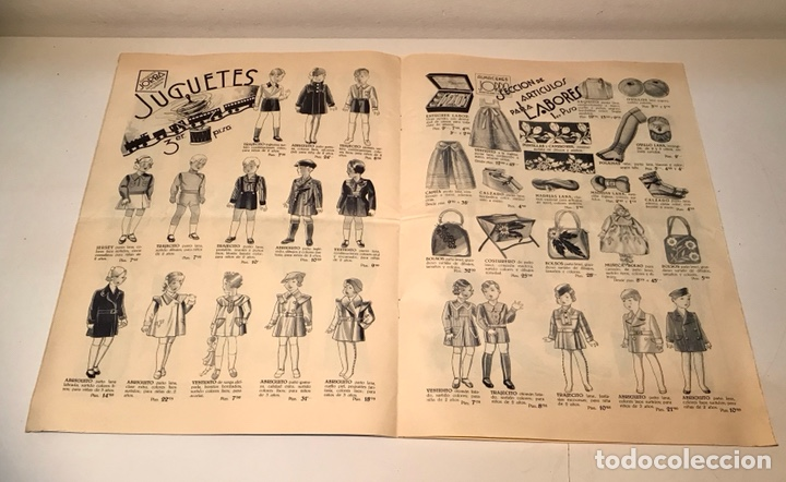 Catálogos publicitarios: Catálogo Almacenes Jorba. Barcelona y Manresa. Invierno 1934-1935. Ilustrado - Foto 6 - 120299111