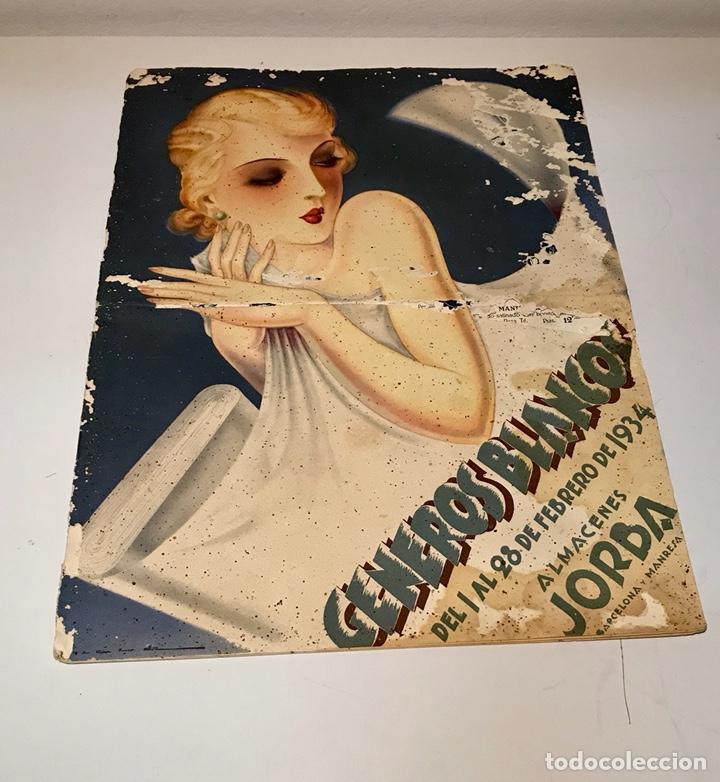 CATÁLOGO ALMACENES JORBA. BARCELONA Y MANRESA. GÉNEROS BLANCOS. DEL 1 AL 28 DE FEBRERO DE 1934. (Coleccionismo - Catálogos Publicitarios)