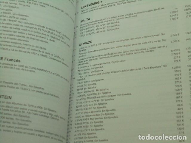Catálogos publicitarios: CATALOGO SUBASTA EXTRAORDINARIA EN BARCELONA SUBASTA DE FILATELIA Y DE COLECCIONISMO Y NUMISMATICA - Foto 3 - 120340911