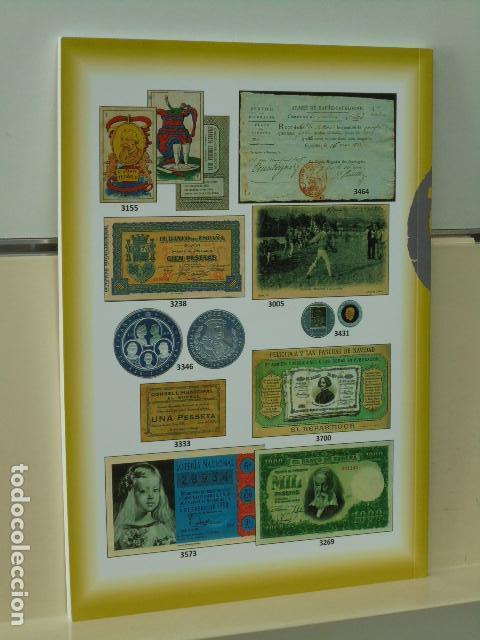Catálogos publicitarios: CATALOGO SUBASTA EXTRAORDINARIA EN BARCELONA SUBASTA DE FILATELIA Y DE COLECCIONISMO Y NUMISMATICA - Foto 4 - 120340911