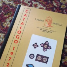 Catálogos publicitarios: CATALOGO TORNERIA ARTISTICA FEDOR S.L., SAN HILARIO SACALM (GERONA), 1972.. Lote 121330471