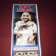 Catálogos publicitarios: MAGNIFICO PROGRAMA OLYMPIA LINARES FERIA DE SAN AGUSTIN 1980,REVISTA CASAS PRESENTA A TONY LEBLANC. Lote 121922971