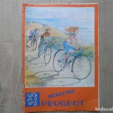 Catálogos publicitarios: BICICLETAS PEUGEOT CATALOGO. Lote 121962959