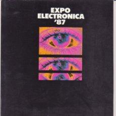 Catálogos publicitarios: CATALOGO EXPOELECTRONICA 1987 EL CORTE INGLES. IMAGEN, VIDEO, SONIDO, INFORMATICA.. Lote 96997823