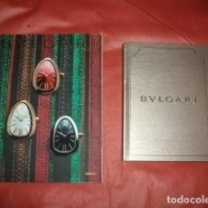 Catálogos publicitarios: LOTE DOS CATÁLOGOS PUBLICITARIOS BULGARI. Lote 122221623