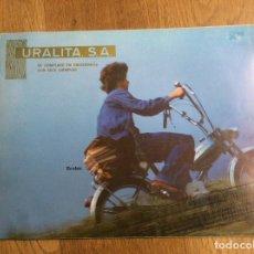 Catálogos publicitarios: URALITA S.A. REVISTA INTERNACIONAL DEL AMIANTO-URALITA SUMARIO OCTUBRE 1976 RARÍSIMO.. Lote 122272223