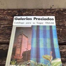Catálogos publicitarios: GALERIAS PRECIADOS, 65-66, HOGAR. Lote 122542515