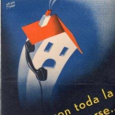 Catálogos publicitarios: CATALOGO PUBLICITARIO. TELEFONO ERICSSON. MEDIDAS : 21 X 15 CM APROX.. Lote 151391088