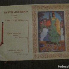 Catálogos publicitarios: ALBUM ARTISTICO CIUDAD DE SEVILLA - PUBLICIDAD LA HERA Y CIA . TEJIDOS SEVILLA -VER FOTOS-(V-14.673). Lote 122597939
