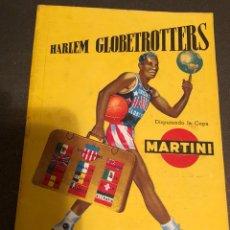 Catálogos publicitários: REVISTA PUBLICITARIA DE LOS HARLEM GLOBETROTTERS, AÑO 1953. Lote 123044968