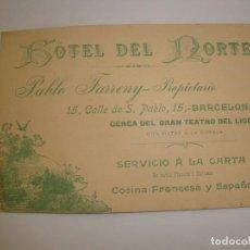 Catálogos publicitarios: TARGETA MODERNISTA. Lote 123857235
