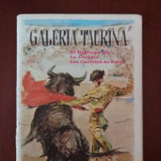 Catálogos publicitarios: FERIA DE SAN ISIDRO 1967 GALERÍA TAURINA . Lote 124015199