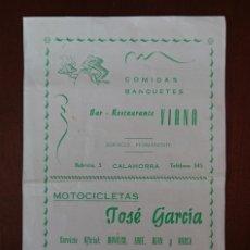 Catálogos publicitarios: CALAHORRA, MONTESA IMPALA. Lote 124016715
