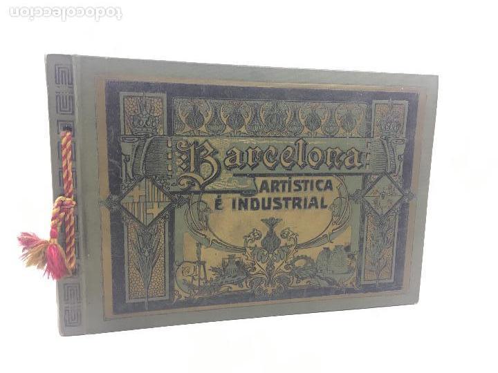 BARCELONA ARTÍSTICA E INDUSTRIAL. AÑO 1916, CATÁLOGO DE FABRICAS Y COMERCIOS. 19X28CM. (Coleccionismo - Catálogos Publicitarios)