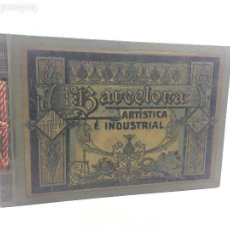 Catálogos publicitarios: BARCELONA ARTÍSTICA E INDUSTRIAL. AÑO 1916, CATÁLOGO DE FABRICAS Y COMERCIOS. 19X28CM.. Lote 124021167