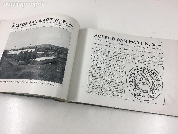 Catálogos publicitarios: BARCELONA ARTÍSTICA E INDUSTRIAL. AÑO 1916, CATÁLOGO DE FABRICAS Y COMERCIOS. 19X28CM. - Foto 6 - 124021167