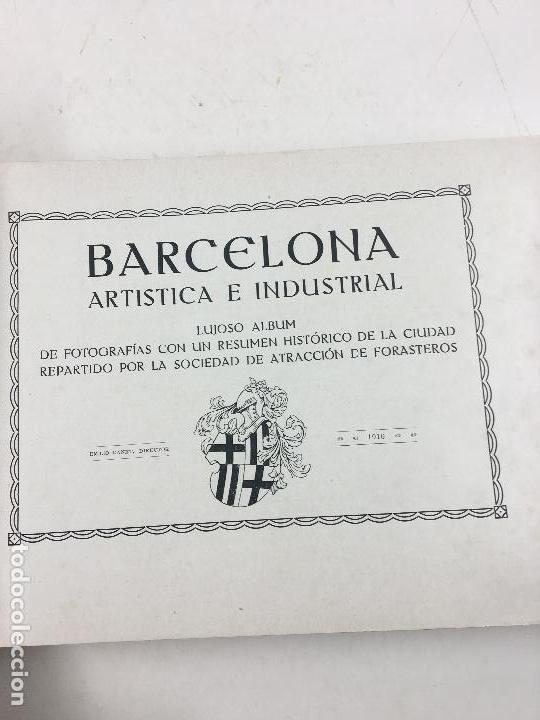 Catálogos publicitarios: BARCELONA ARTÍSTICA E INDUSTRIAL. AÑO 1916, CATÁLOGO DE FABRICAS Y COMERCIOS. 19X28CM. - Foto 7 - 124021167