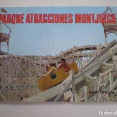 Catálogos publicitarios: PARQUE DE ATRACCIONES DE MONTJUICH GUIA OFICIAL 1968 // PUBLICIDAD LORD BLACK BOITE SICODELICA. Lote 124194931