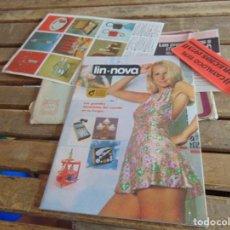 Catálogos publicitarios: CATALOGO DEL AÑO 1974 DE VENTA POR CORREO IM-NOVA VINTAJE JUGUETES MUEBLE DECORACION REGALOS. Lote 124460491