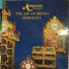 Catálogos publicitarios: GRAN CATÁLOGO DE RELOJES AUTIQUORUM 1995. Lote 125204555